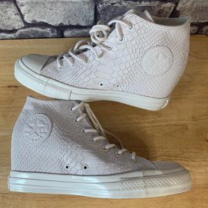 Converse Rare White Leather All Stars
